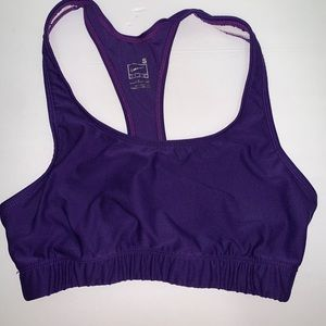 Purple Nike Sports bra